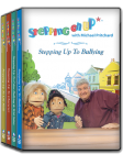 Stepping On Up with Michael Pritchard complete set of 4 DVD's