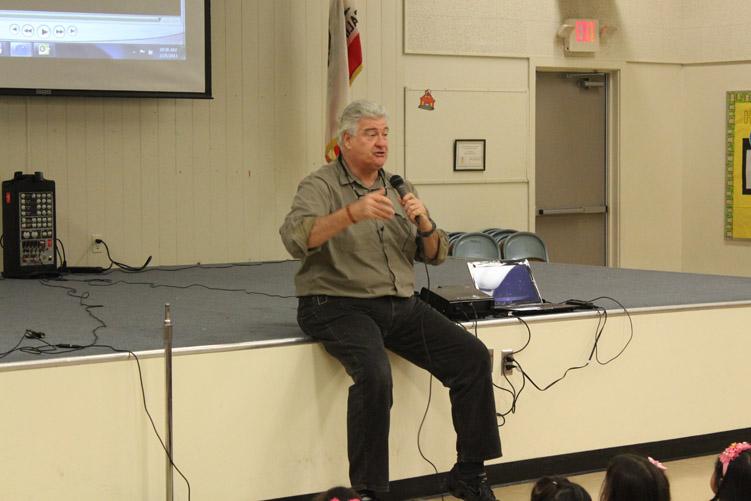 Michael Pritchard presenting Building Bully-Free Schools/Communities